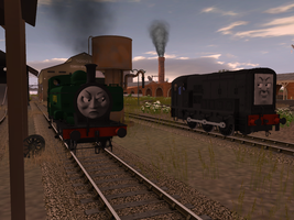 Pop Goes the Diesel - RWS Style by wildnorwester