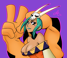 Cerebella dem tah tahs by MonstreNoir