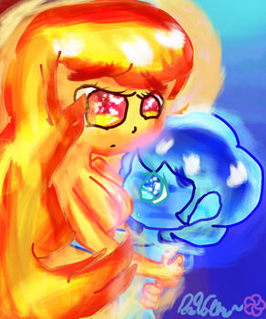 ||Fire and Water~|| by Stewie106