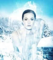 ice lady2 by double-graphic
