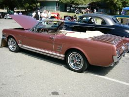 1966 Ford Mustang GTA convertible by RoadTripDog