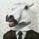 a man disguise horse by ickkow