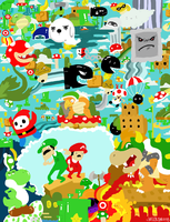 Super Mario Land by sweetlynumb63