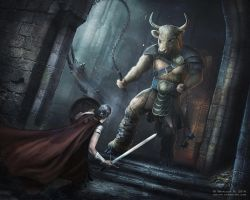 Minotaur by NM-art