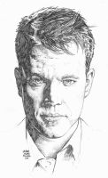 MATT DAMON in 90 minutes by MalevolentNate