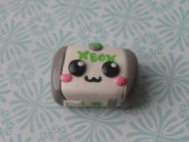 Kawaii Clay Xbox by CraftyOlivia