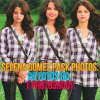 +Selena Gomez Pack Photos by CantBeeTamedEditions