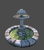 fountain by Tejayfc