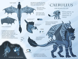 NEW Caeruleus Reference 2014 by Starrypoke