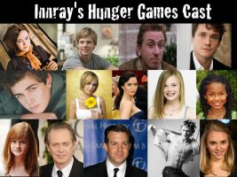 My Hunger Games Dream Cast by Innray