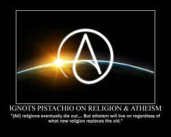 Ignots Pistachio on Religion and Atheism by fiskefyren