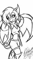 Lily the Bat by DarkHallows1000