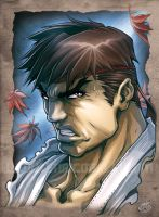Ryu color sketch by EnricoGalli