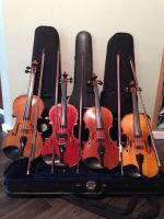 Violin Collection by InkFoxie