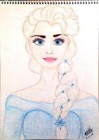 The Snow Queen: Elsa by grecianoktapodievil