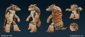 Armadillo by mighty5cent