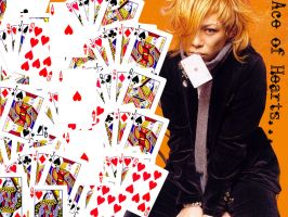 Kyo Dir en grey Ace of hearts by RinSohma