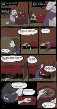 Horrortale Comic 06: Feigned Sickness by Sour-Apple-Studios