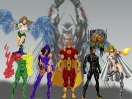 Squadron Supreme Wallpaper by kinghyp