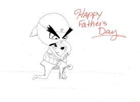 Happy Father's Day by Coffee-N-Computers