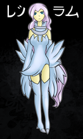 PKMN:Gijinka::reshiram by Rayne-Is-Butts