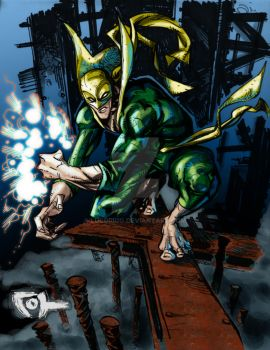 Joh's Iron Fist by LucGrigg