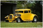 A Sharp Yellow Hot Rod by TheMan268