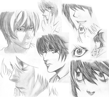 DN Sketches by detectivelyd