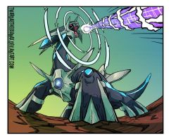 Dialga: Roar Of Time by Twarda8