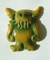 CTHULHU fridge ornament by thebiscuitboy