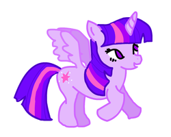 Twilight Sparkle (Alicorn Style) by RockinT765