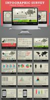 Infographic Survey Keynote Template by kh2838
