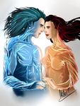 Ice and Fire by MellorianJ