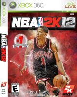 Derrick Rose NBA 2K12 Cover by Angelmaker666
