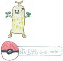 No. 185 Sudowoodo and Chikorita part 2 by x3CursedNeko