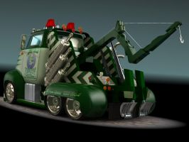 1956 Ford F500 Tow Truck 3 by CWRudy