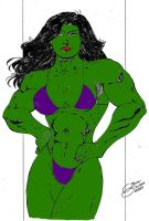 She-Hulk by Dairugger