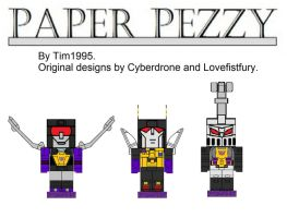 Insecticon Paper Prezzy's by Tim1995