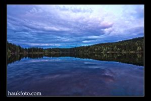 Blue waterscape... by OrisTheDog