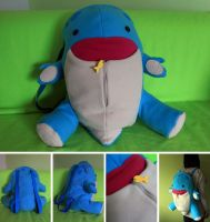 Quaggan Backpack by FizziMizzi