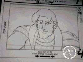 Herc Stormsailor pencil test by j3px