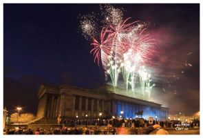 St Georges Hall Fireworks 2005 by petemc