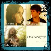 16 A Thousand Years Lindsey Stirling Aimee Proal by SeraphSirius