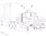 1978 Kenworth W900 IN INK by Deorse
