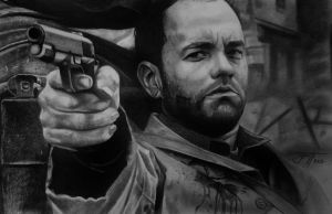 Saving Private Ryan drawing by urosh1991