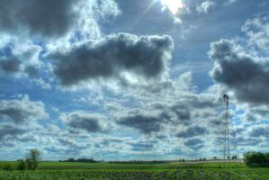 Iowa Scenic Route - HDR by tb0mb