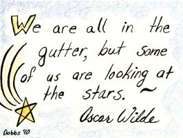 We Are all in the Gutter by WildeMoon