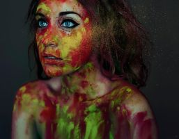 Color Dust I by LidiaVives