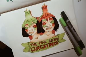 The Time before Christmas... by elizabetezv