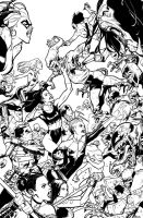 A-Force #5 Inks by ZurdoM